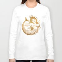 mermaid Long Sleeve T-shirts featuring Mermaid by Vladimir Stankovic