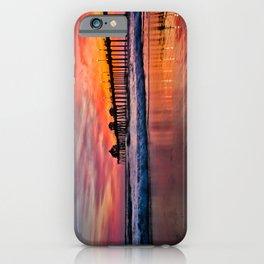 Huntington Beach Pier Sunset   -  2/28/16 iPhone Case