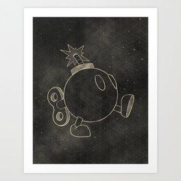 The Bomb Art Print