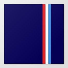 Tricolore #2 Canvas Print