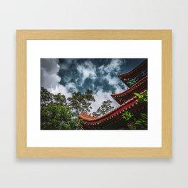 Temple of the Sky Framed Art Print