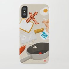 Breakfast Time iPhone X Slim Case