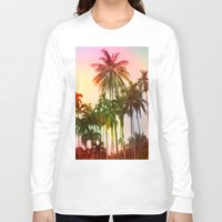 tropical Long Sleeve T-shirts featuring tropical by mark ashkenazi