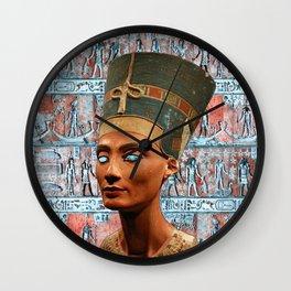 Nefertiri I Wall Clock