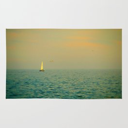 Sailing on The Great Lakes Rug