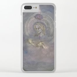 Anja Clear iPhone Case