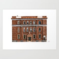 Wright Building Art Print