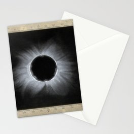 Corona of the Sun during an Eclipse, from Doddabetta, December 11 1871 Stationery Cards
