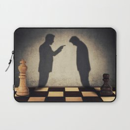 hierarchical levels stress Laptop Sleeve