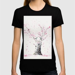 Cherry Blossoms And Birds T-shirt