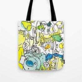 Character Cohesion Tote Bag