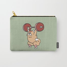 The snatch weightlifting Cat Carry-All Pouch