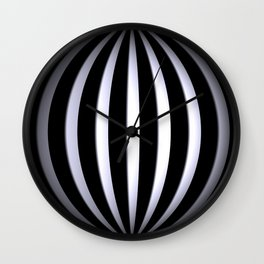 black-and-white -03- Wall Clock