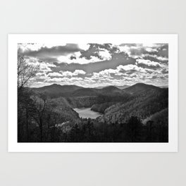 The Smoky Mountains Art Print