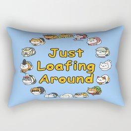 Just Loafing Around Rectangular Pillow