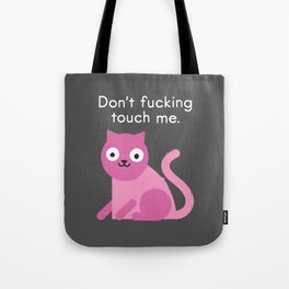 Purrsonal Space Tote Bag