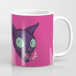 Mad Cat Coffee Mug