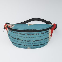 Affiche  Travel Poster Come to Britain Policeman Fanny Pack