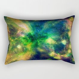 An Explosion of Color Rectangular Pillow