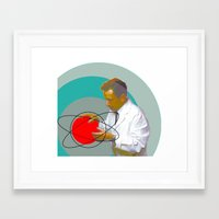 science Framed Art Prints featuring Science by Renaissance Youth