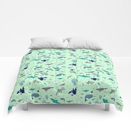 Sea Animals Comforters