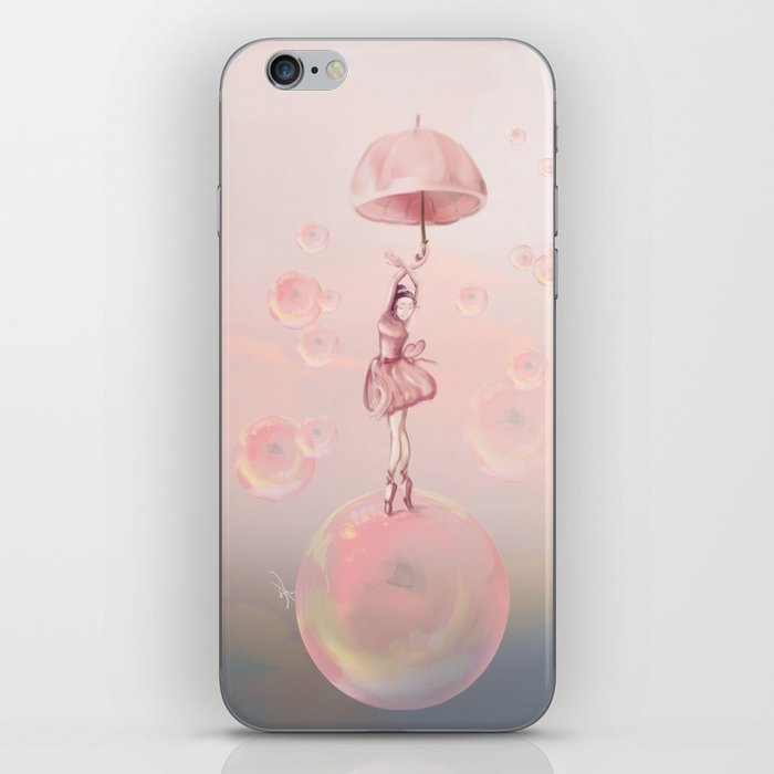 Dance in the dream iPhone Skin