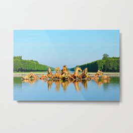 The Fountain of Apollo Metal Print