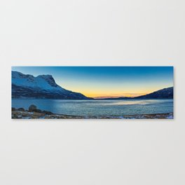 Sunrise over Norway Canvas Print