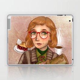 Log Lady - My Log Has Something To Tell You Laptop & iPad Skin