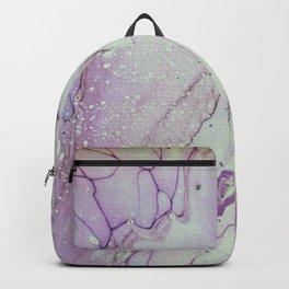 Dirty Acrylic Paint Pour 26, Fluid Art Reproduction Backpack