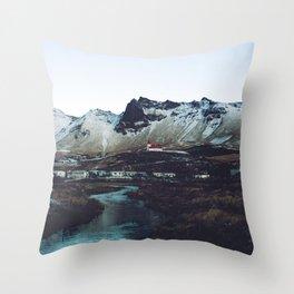 Iceland // Vik Throw Pillow