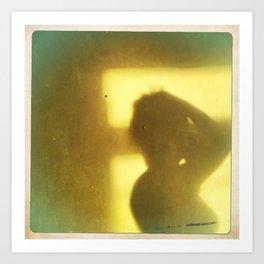 Afternoon shadow Art Print
