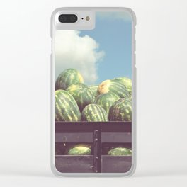 watermelons, immokalee Clear iPhone Case