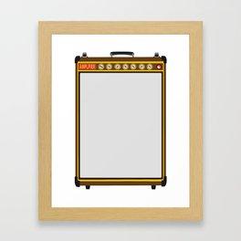 Tail Amplifier Framed Art Print