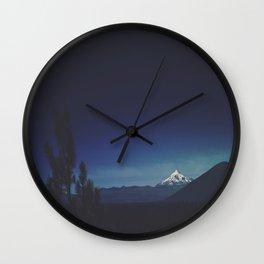 Mount Jefferson Wall Clock