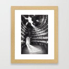 La grotta dei suoni Framed Art Print