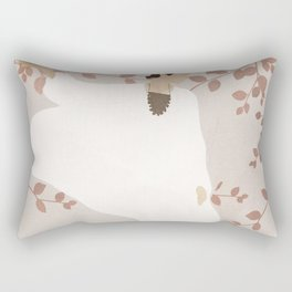 Soft Summer Breeze II Rectangular Pillow