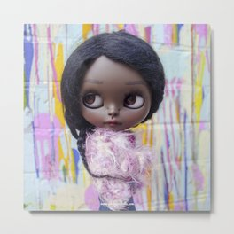 ERREGIRO CUSTOM BLYTHE DOLL LONDON Metal Print
