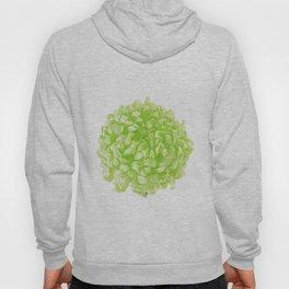Green Pop Art Inspired Flower Hoody