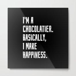 Chocolatier Metal Print