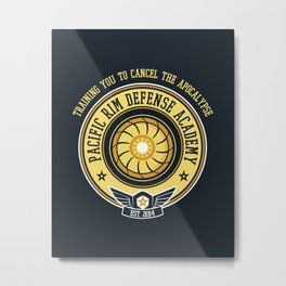 Pacific Rim Defense Academy Metal Print
