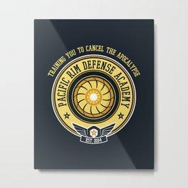Pacific Rim Defense Academy Metal Print