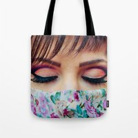 make up Tote Bags featuring Make Up by Eduard Leasa Photography