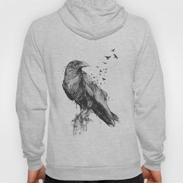 Born to be free (bw) Hoody