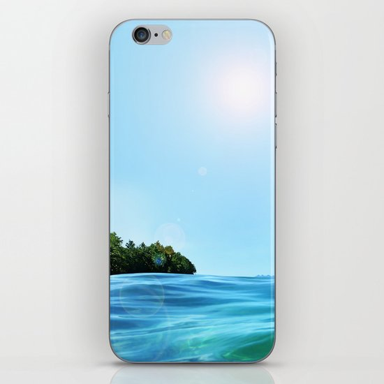 The Happy Isle iPhone & iPod Skin