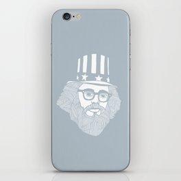 Allen Ginsberg - I don't feel good iPhone Skin