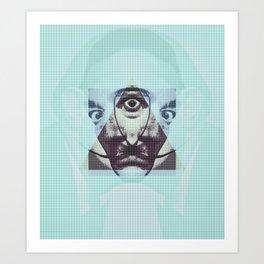 salvador illuminat Art Print