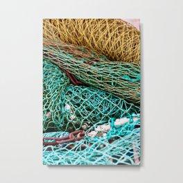 Fishermen Sound Metal Print