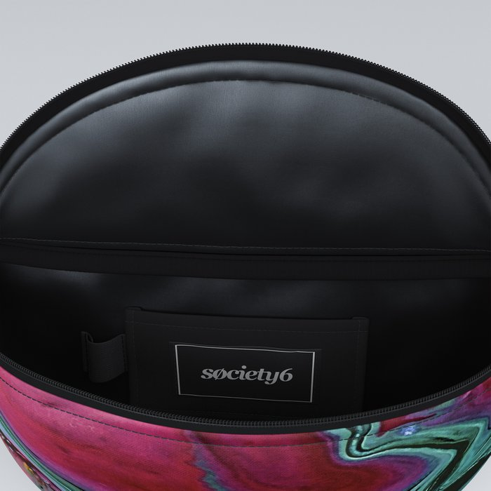 Colorful abstract marbling Fanny Pack