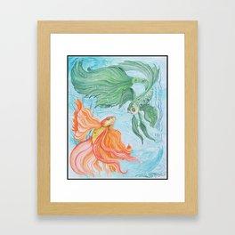 Betta Dance Framed Art Print